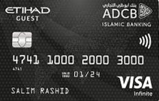 ADCB Islamic Etihad Guest Infinite Credit Card