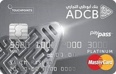ADCB Islamic TouchPoints Platinum Credit Card