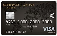 ADCB Etihad Guest Above Infinite Card