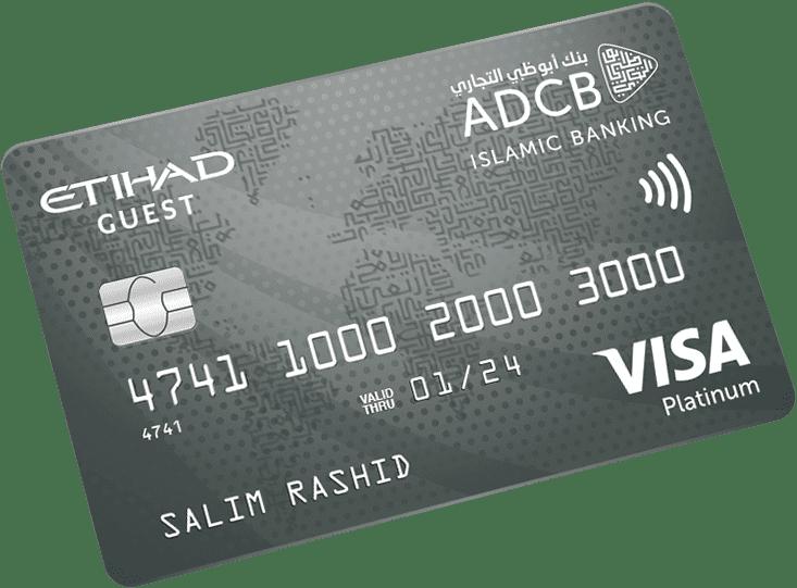ADCB Islamic Etihad Guest Platinum Credit Card