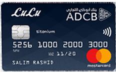 ADCB LuLu Titanium Credit Card