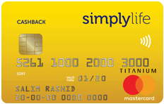 ADCB SimplyLife Cash Back Credit Card