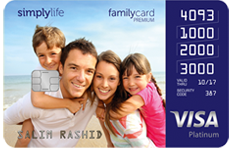 ADCB SimplyLife Family Credit Card