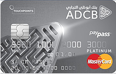 ADCB TouchPoints Platinum Credit Card