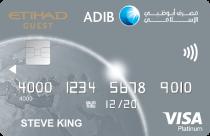 ADIB Etihad Visa Platinum Card