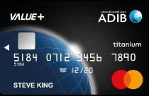 ADIB Value+ Card