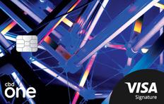 CBD one Starter VISA Signature Credit Card