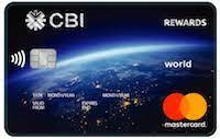 CBI Rewards World Mastercard Credit Card