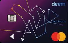 Deem MasterCard Platinum Miles Up Credit Card