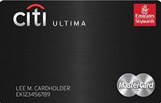 Emirates Citibank Ultima Credit Card
