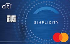 Citibank Citi Simplicity Credit Card