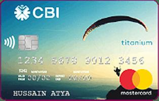 CBI MasterCard Titanium Credit Card