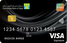 CBD Smiles Visa Signature Credit Card