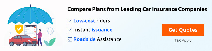 Compare car insurance from top companies