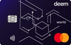 Deem Finance Mastercard World Cash Up Credit Card