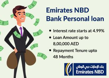 Emirates NBD Bank Personal loan