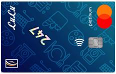 Emirates NBD LuLu 247 Mastercard Platinum Credit Card