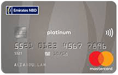 Emirates NBD MasterCard Platinum Credit Card