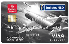Emirates NBD Skywards Infinite Credit Card