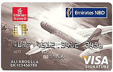Emirates NBD Skywards Signature Credit Card