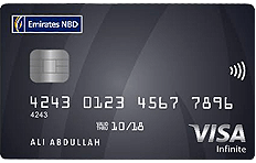Emirates NBD Visa Infinite Credit Card