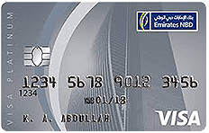 Emirates NBD Visa Platinum Credit Card