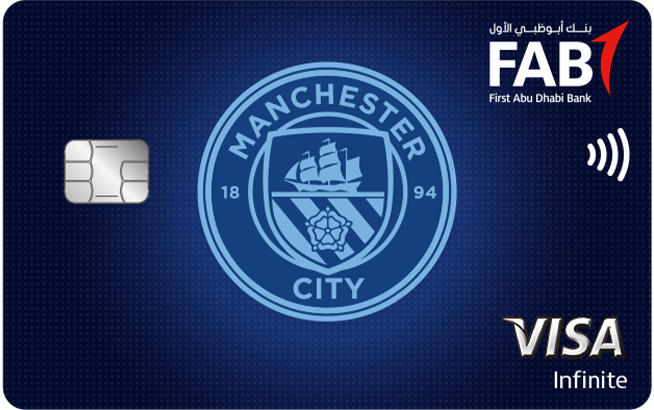 FAB Manchester City Infinite Credit Card