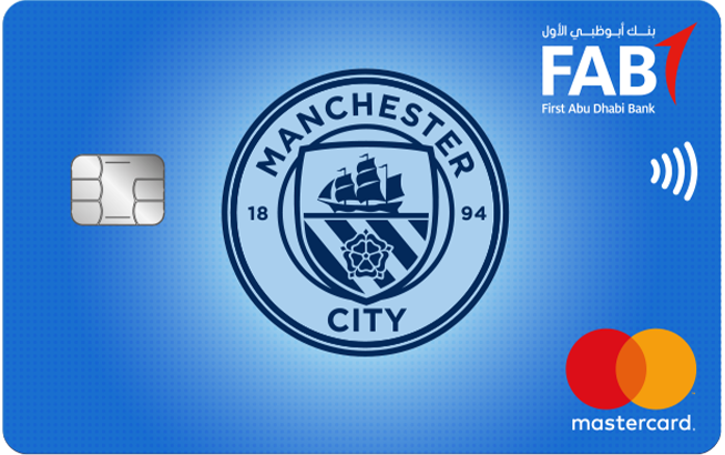 FAB Manchester City Titanium Credit Card