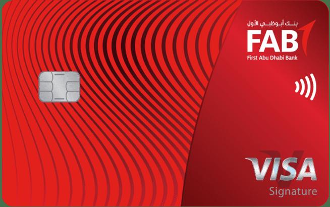 FAB Signature Credit Card