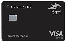Mashreq Bank Solitaire Credit Card
