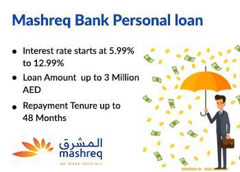 Mashreq personal loan