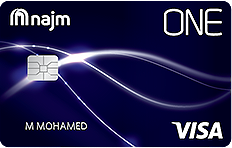Najm ONE Cash Back Credit Card