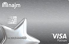 Najm Platinum Cashback Credit Card