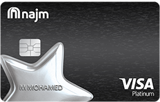 Najm Platinum Plus Cashback Credit Card