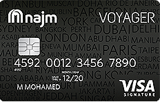 Najm Voyager Signature Credit Card