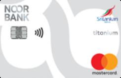 Noor Bank Srilankan Titanium Credit Card