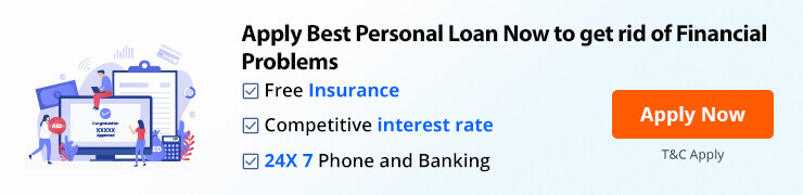 Apply best personal loan to get rid of financial problems