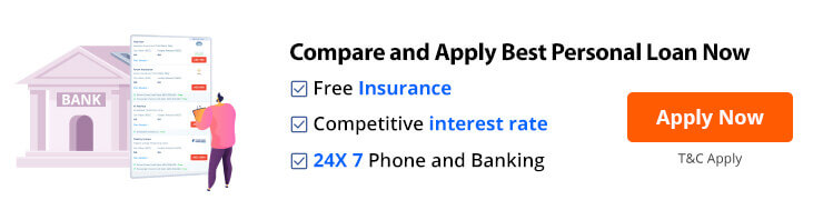 Compare and apply best personal loan