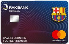 RAKBANK FC Barcelona Platinum MasterCard Credit Card