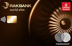 RAKBANK Emirates Skywards World Elite Credit Card