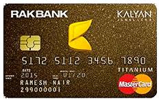RAKBANK Kalyan Jewellers Credit Card