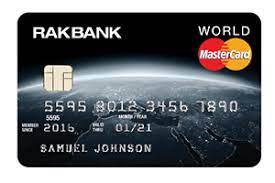 RAKBANK World Credit Card