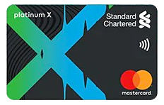 Standard Chartered Platinum X Credit Card