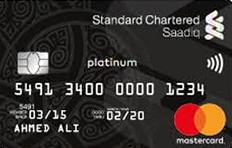 Standard Chartered Bank Saadiq Platinum (Murhaba)