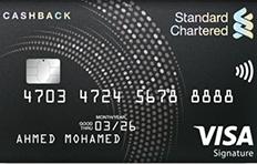 Standard Chartered Cashback Credit Card
