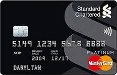 Standard Chartered MasterCard Platinum Credit Card