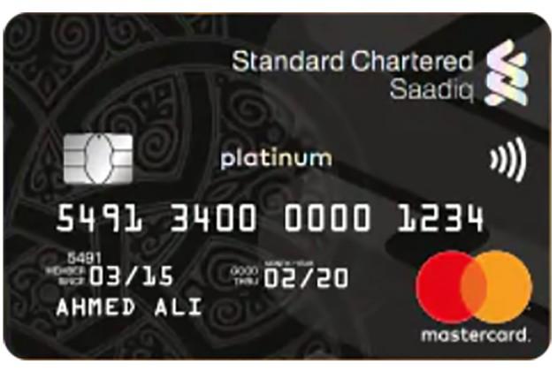Standard Chartered Saadiq Platinum (Urjah)