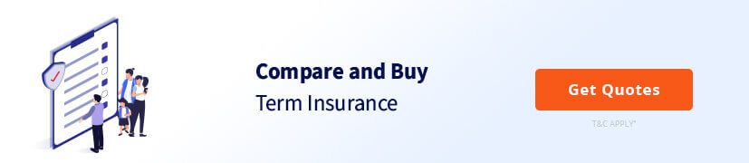 compare and buy term Insurance