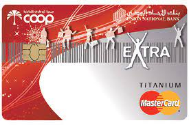 Union National Bank ADCOOP Extra and Spar Titanium Credit Card